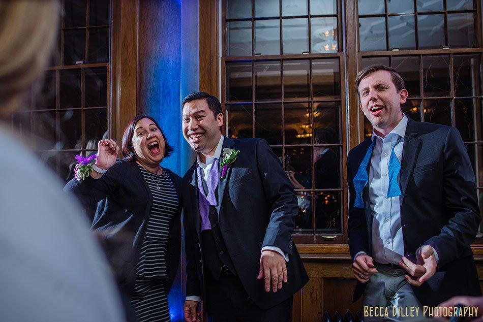 dancing st paul university club wedding
