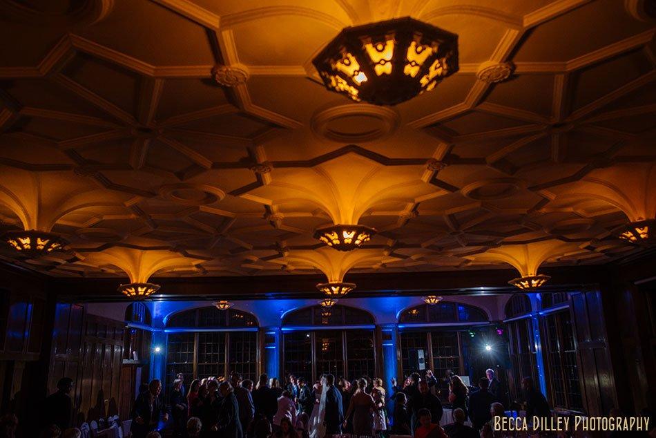 st paul university club wedding reception dancing