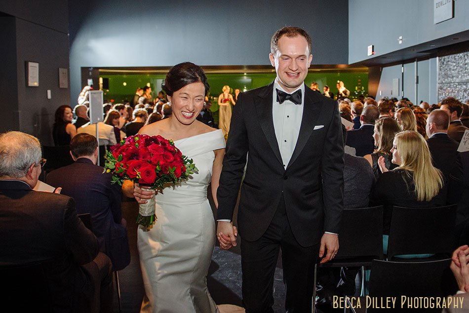 guthrie theater wedding ceremony winter minneapolis photographer
