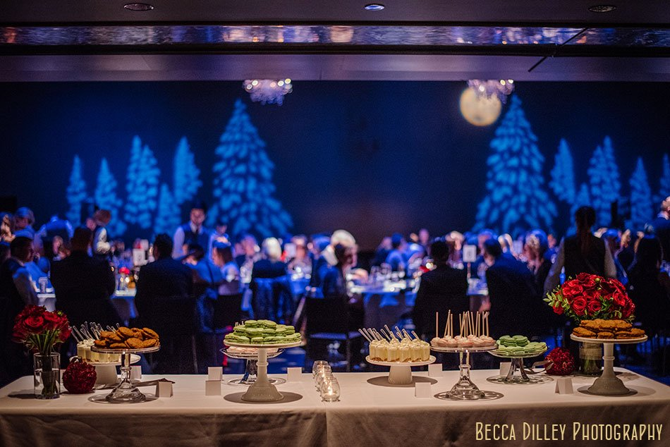 dessert table guthrie theater wedding ceremony winter minneapolis photographer