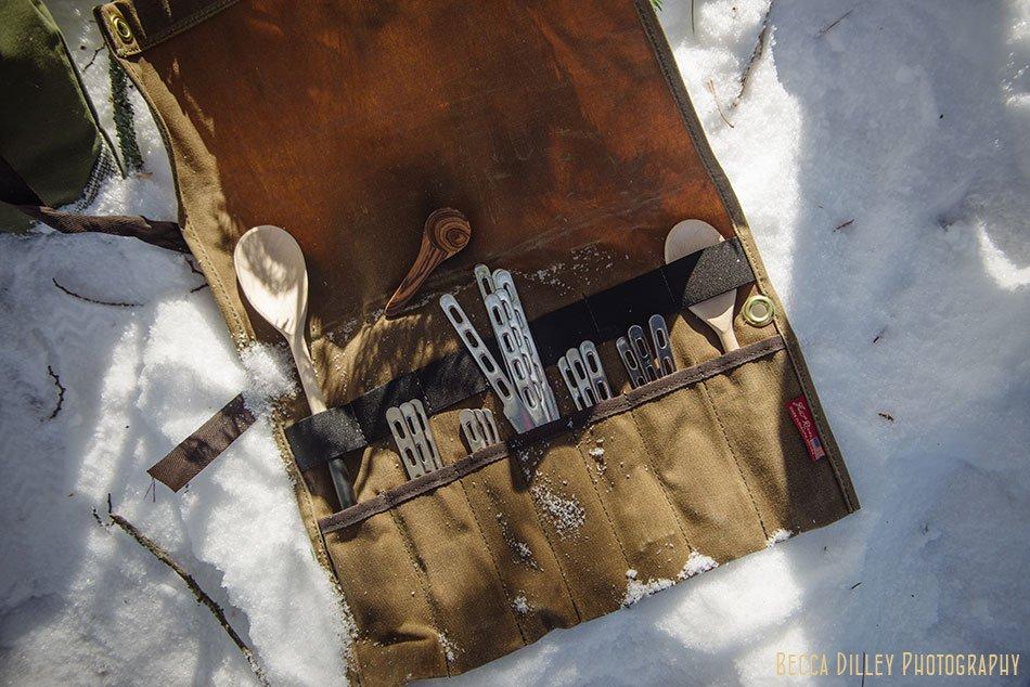 ely winter boundary waters utensil carrier