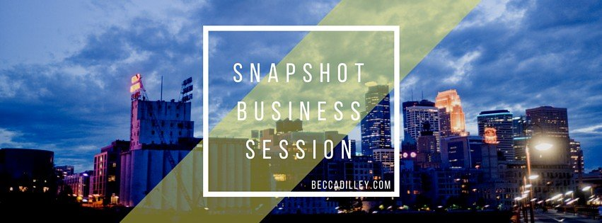 minneapolis photographer business mentoring and workshops quick session