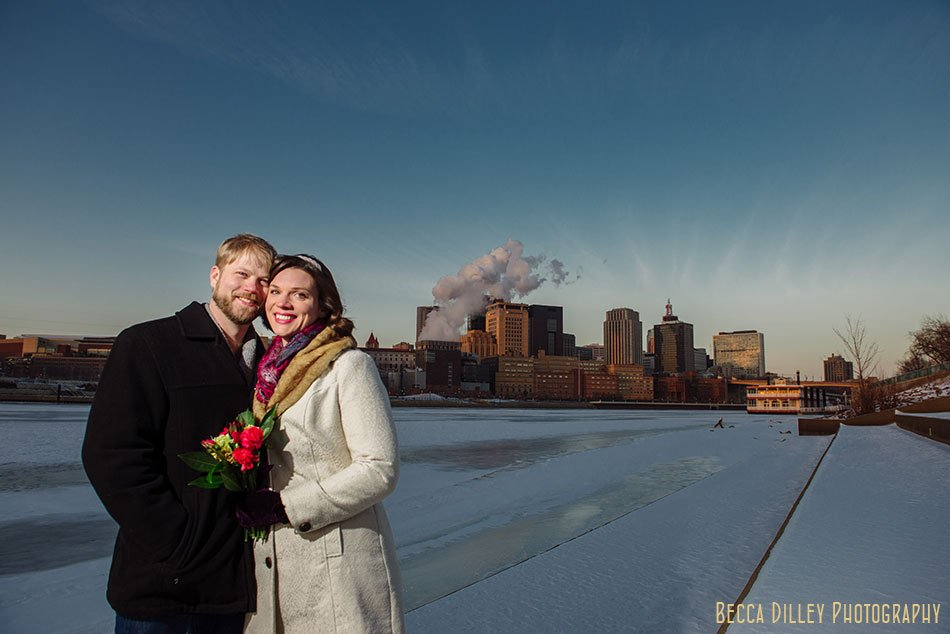 St Paul City Hall Elopement - Minneapolis Wedding