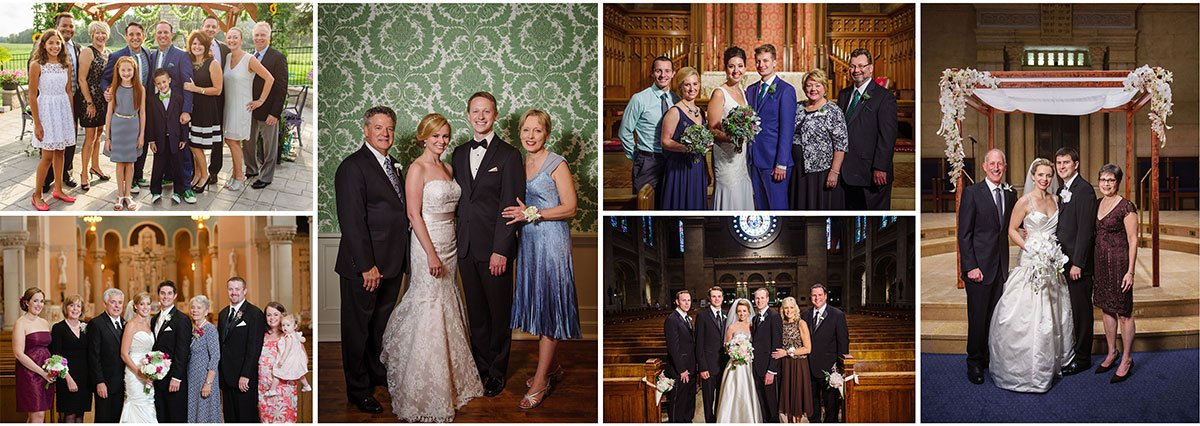 Minneapolis wedding photographer family portraits