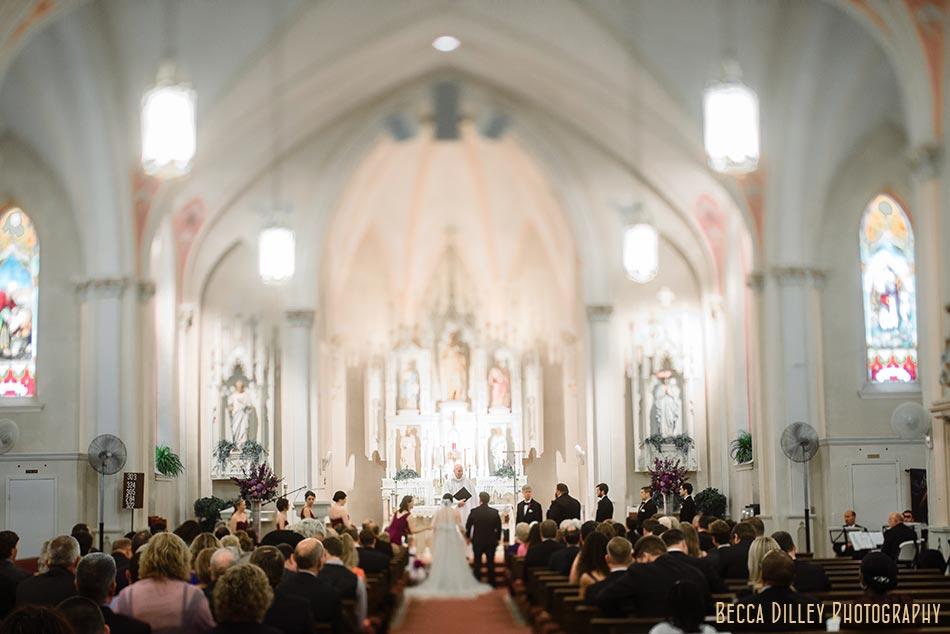 st john the baptist church wedding madison wisconsin wedding