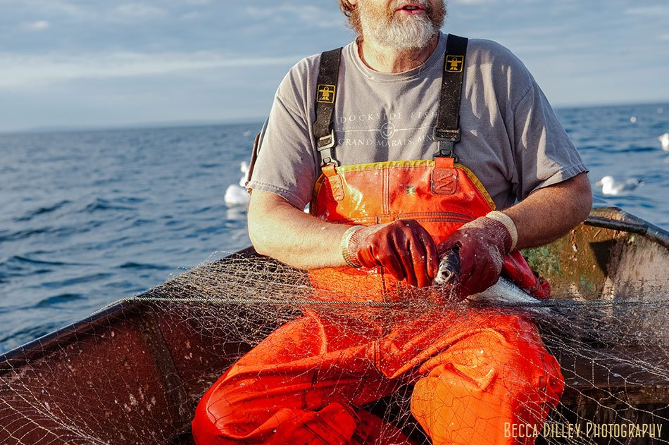 herring fishing minnesota editorial photographer book images lake superior flavors