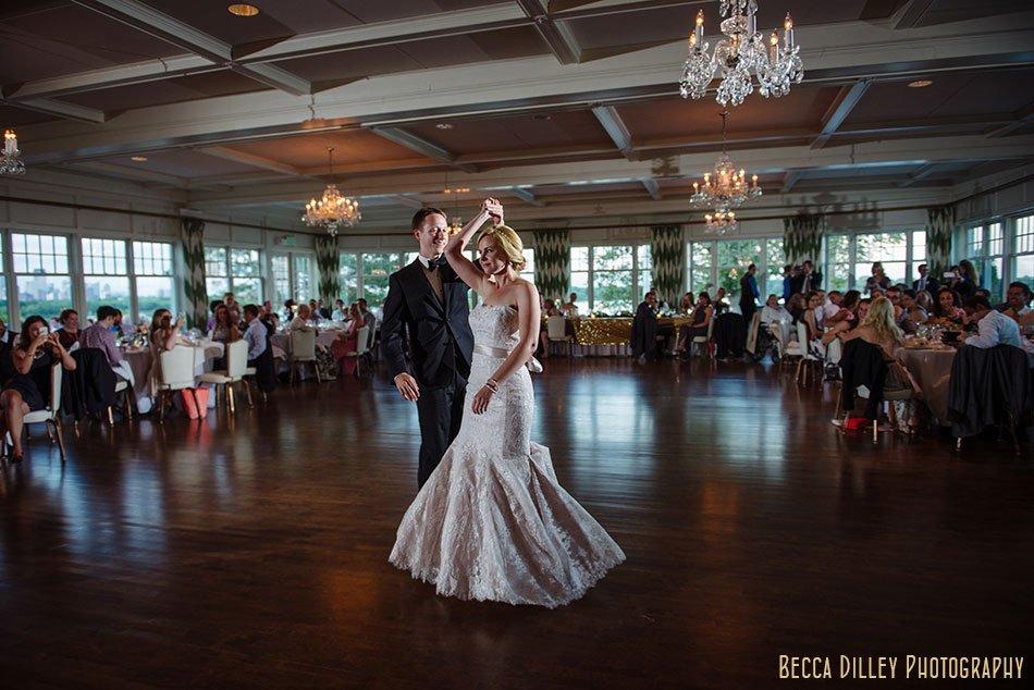 first dance Minikahda Club wedding minneapolis