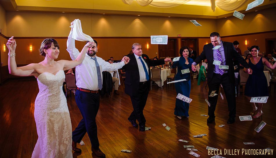 dancing Minneapolis greek orthodox wedding