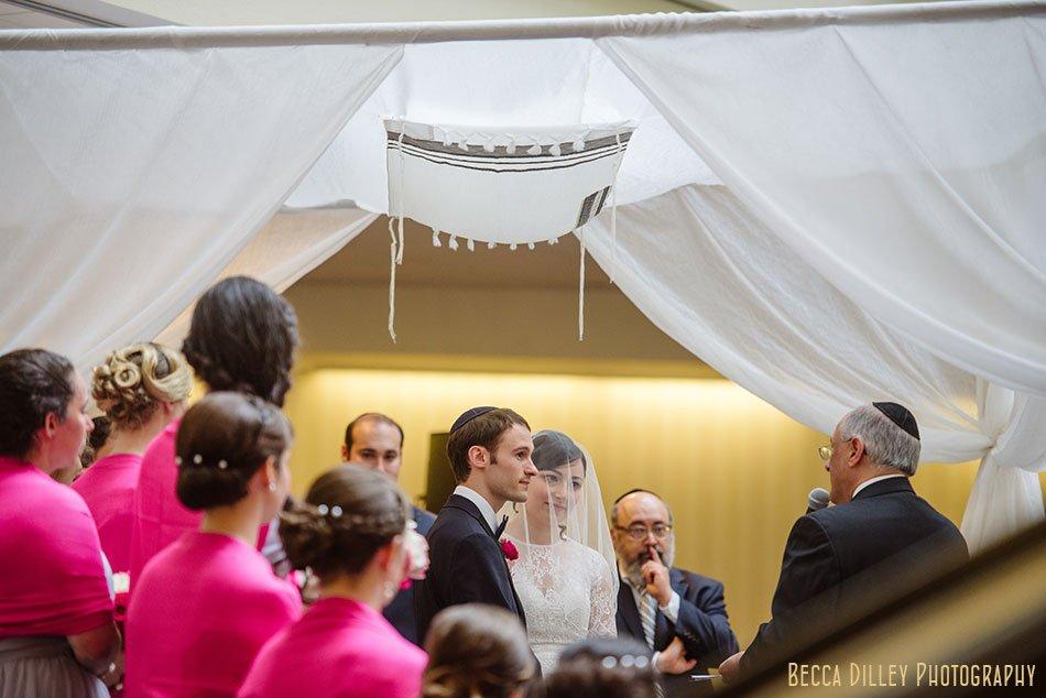 chuppa minneapolis orthodox jewish wedding marriot city center