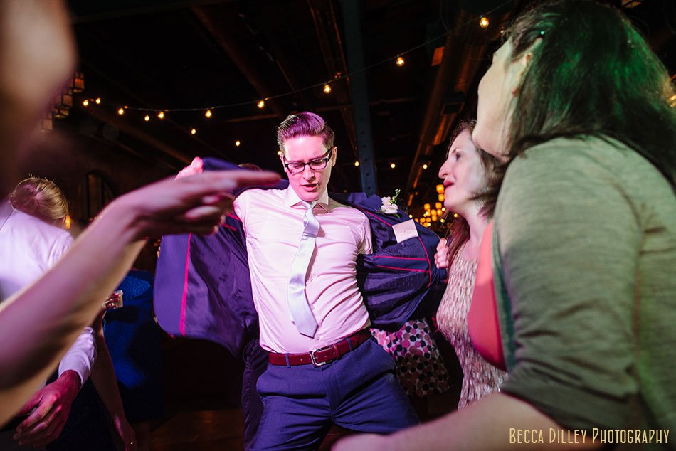 dancing Nicollet Island Pavilion Wedding Minneapolis