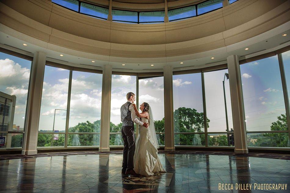 st paul crown plaza intercontinental hotel wedding