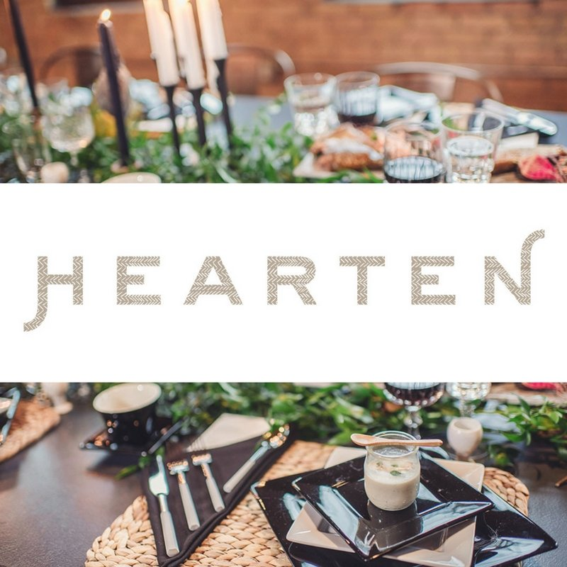 co-author Hearten Magazine
