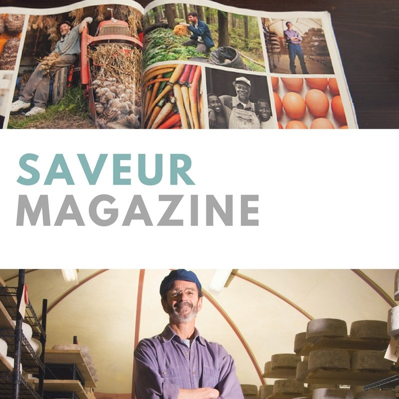 featured in Saveur Magazine