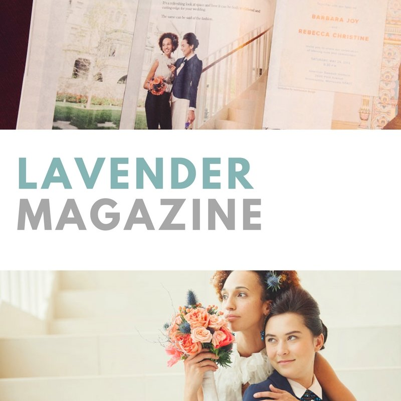 featured in Lavender Magazine