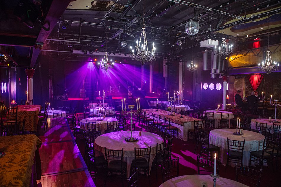 interior purple varsity theater wedding minneapolis mn