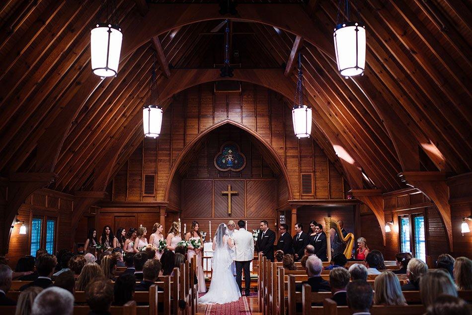 ceremony wayzata country club wedding mn
