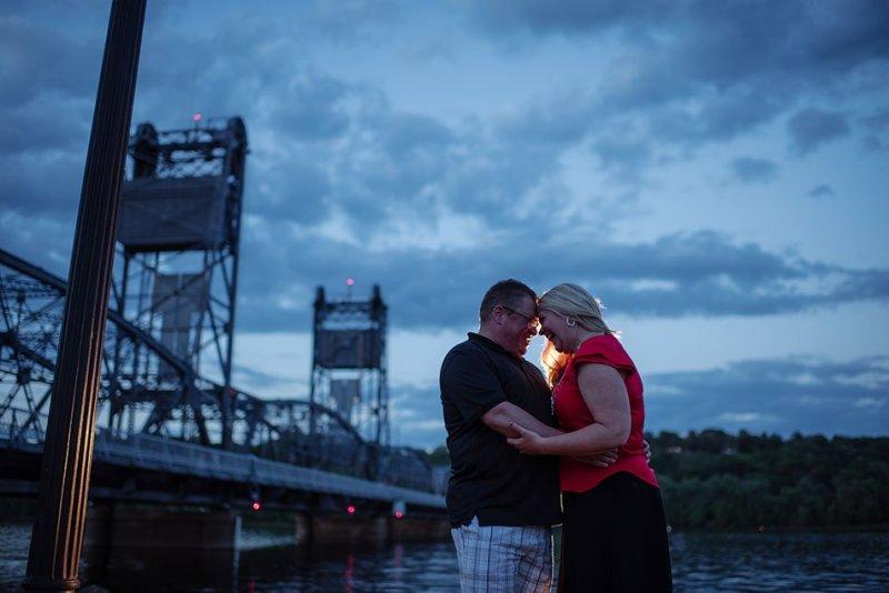 engagement photos in stillwater