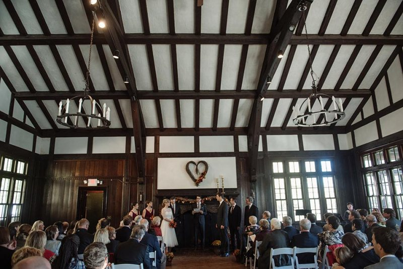 ceremony Theodore Wirth Wedding Minneapolis