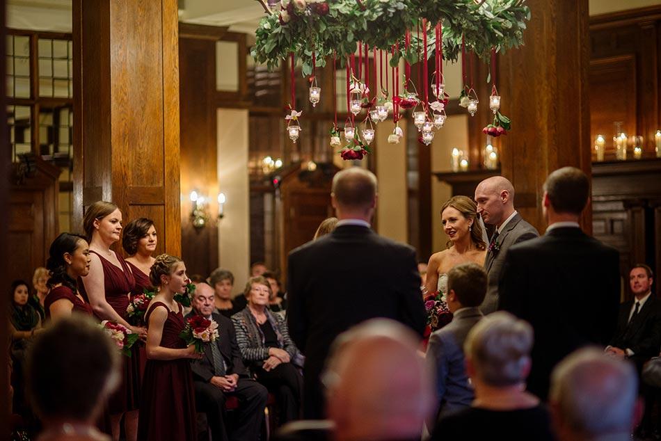 ceremony Wedding at Minneapolis Club