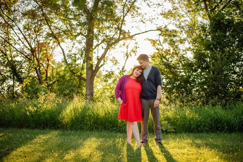 minneapolis engagement photos at betty dangers country club