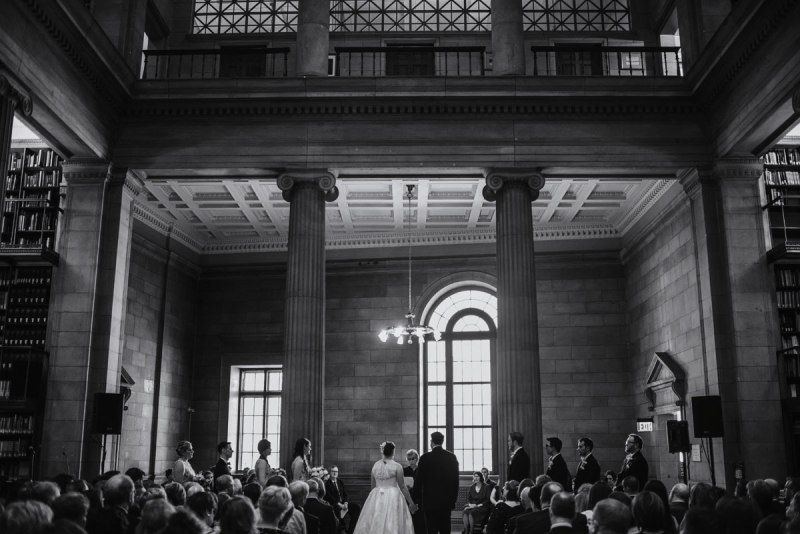 ceremony jj hill library wedding st paul photographer