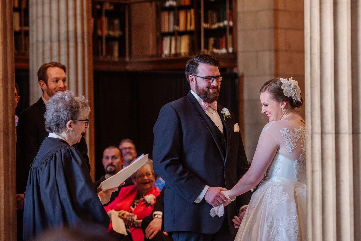 wedding ceremony jj hill library wedding st paul photographer