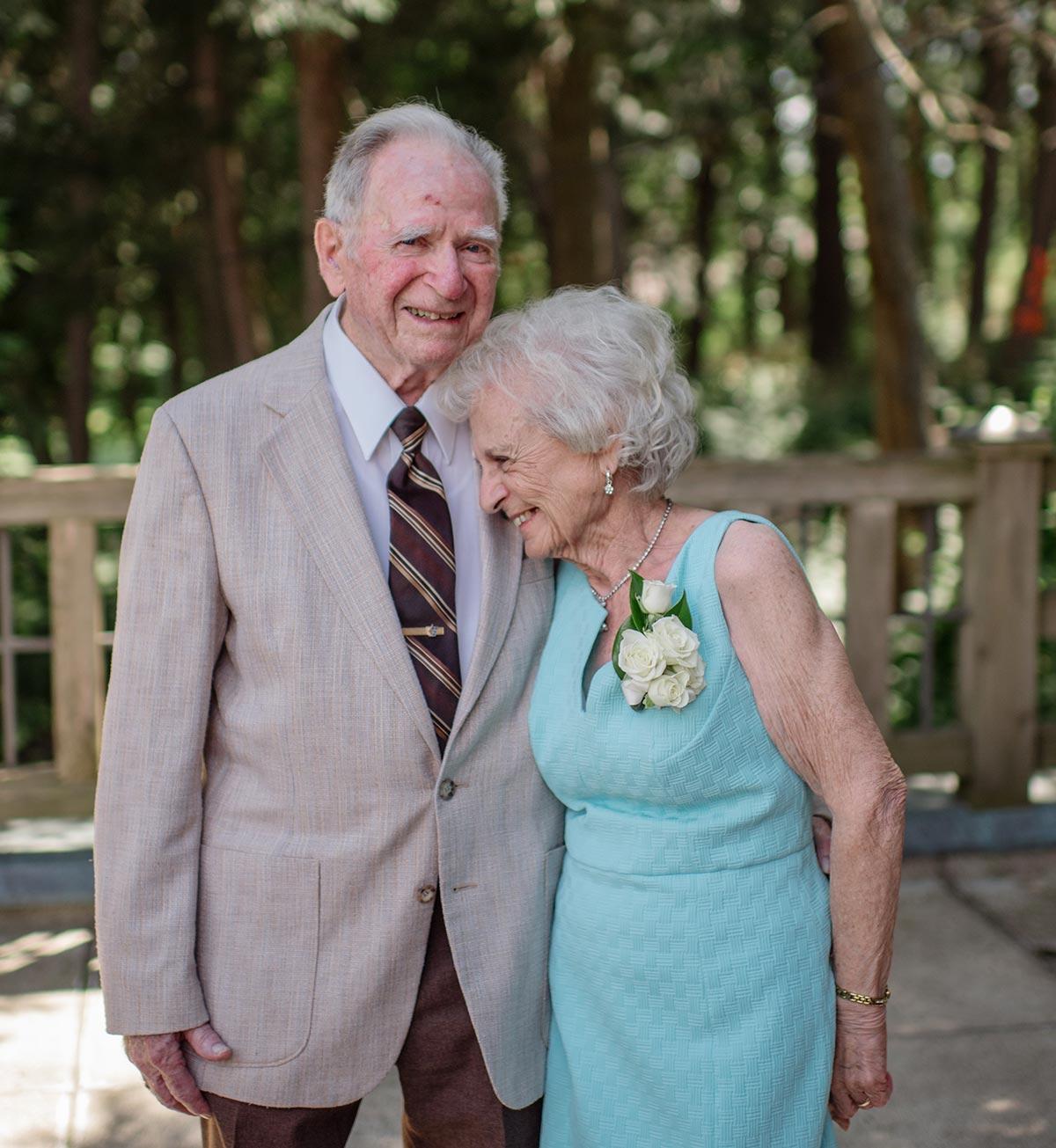 adorable grandparents Outdoor Minneapolis Wedding
