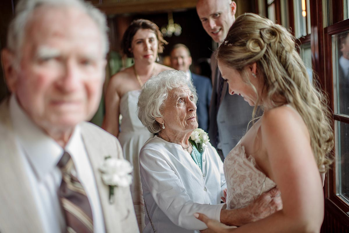 grandma Outdoor Minneapolis Wedding