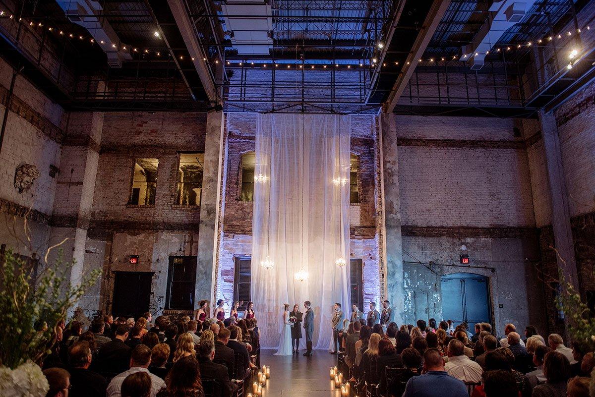ceremony Aria Winter Wedding Minneapolis