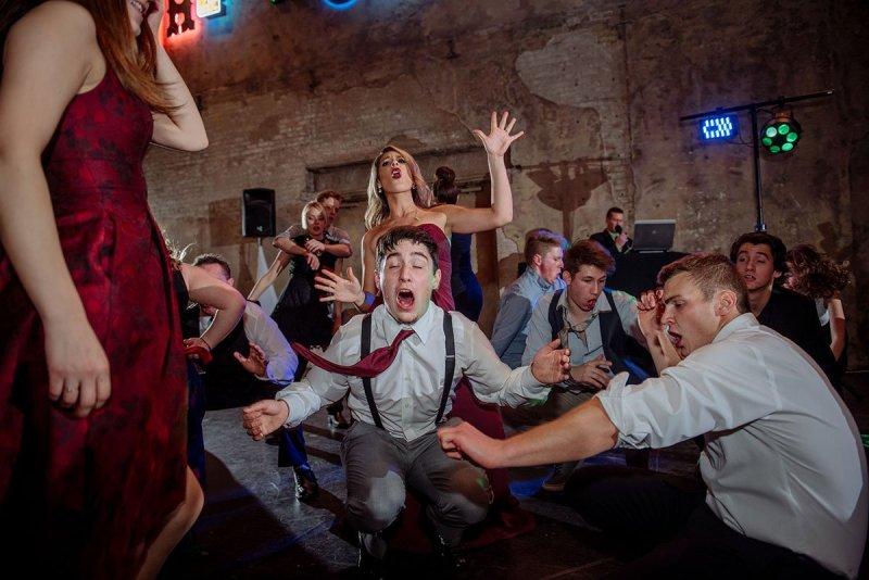 dancing Aria Winter Wedding Minneapolis