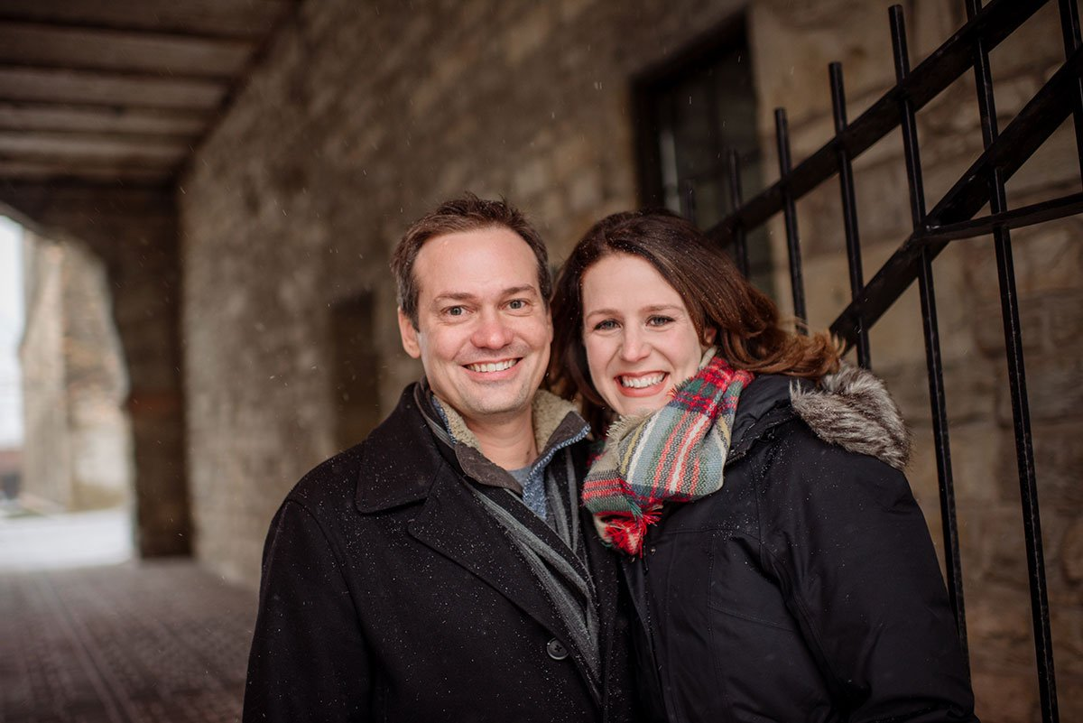 Engagement photos at Young Joni in Minneapolis