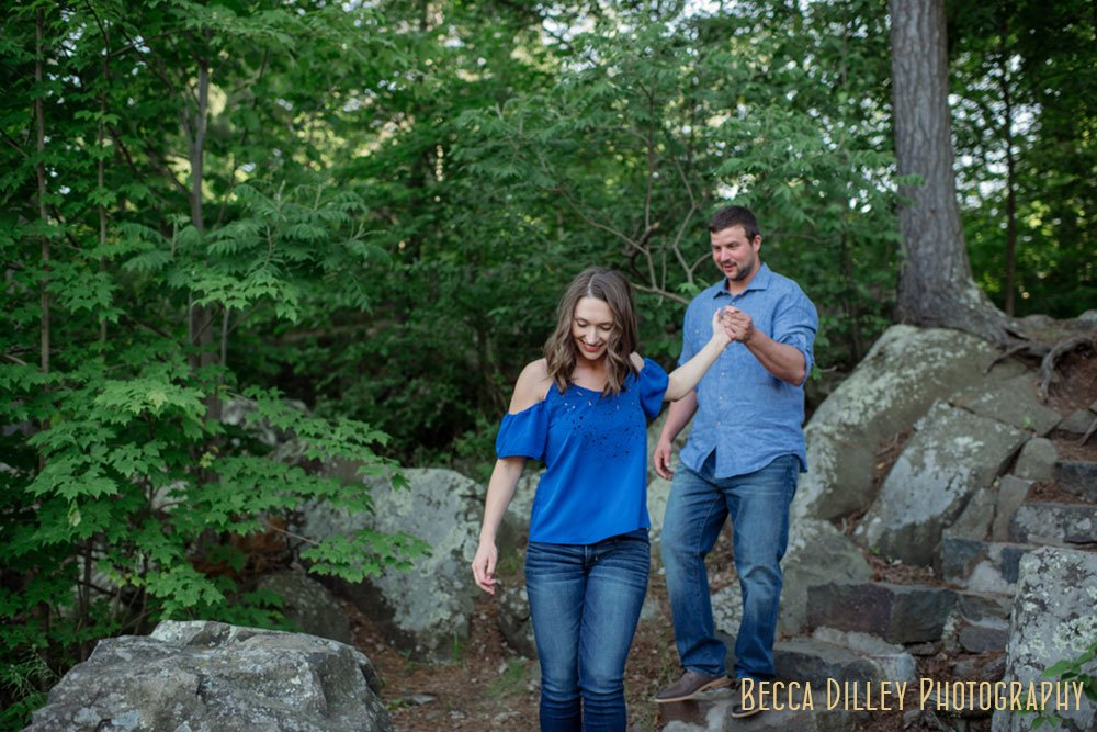 Taylors Falls Engagement Photos MN