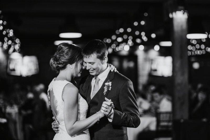 first dance MEC wedding Minneapolis