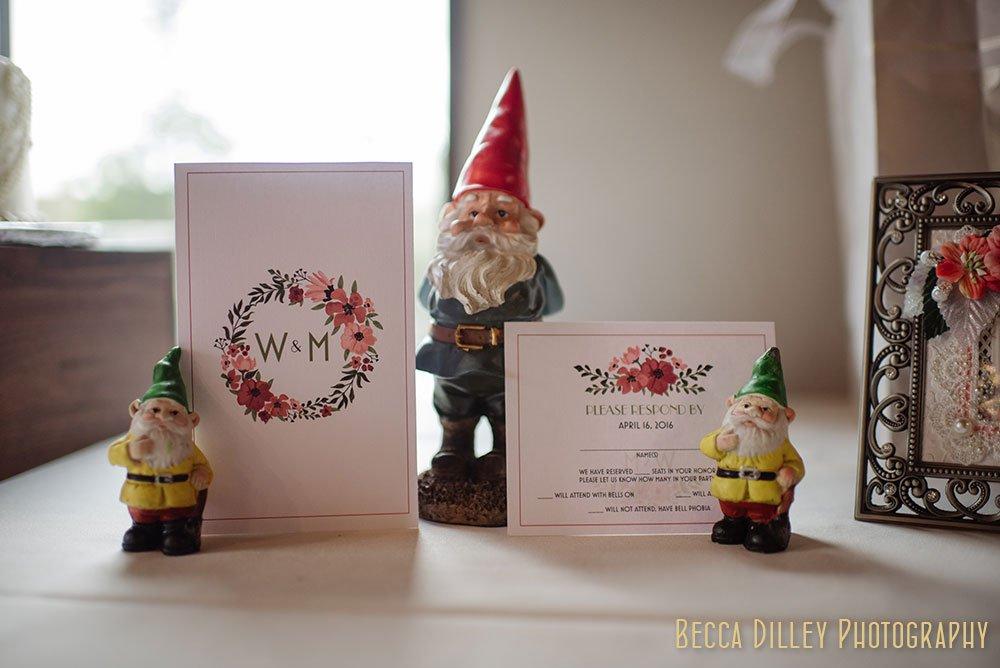 Happy Gnome Wedding reception st paul mn