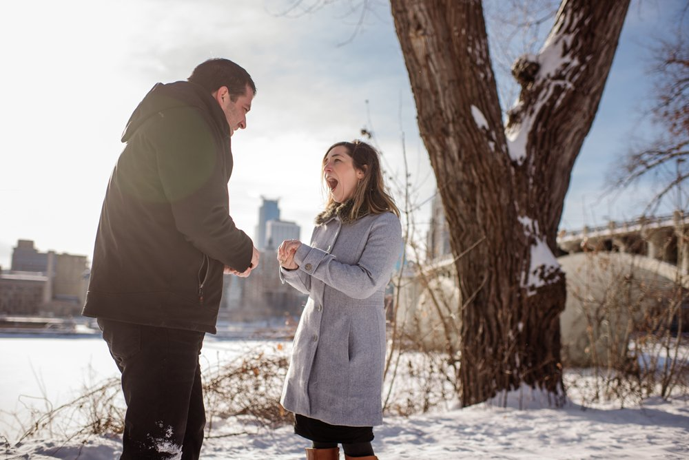 2017 favorite photos best Minneapolis photographer winter proposal