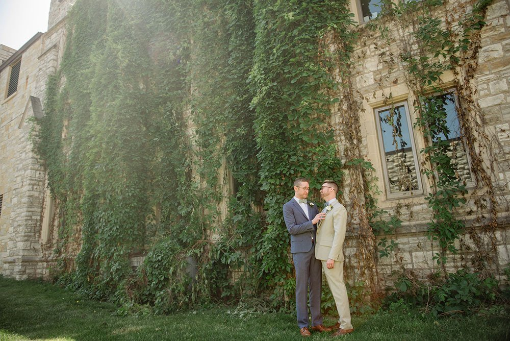 St Olaf College Wedding