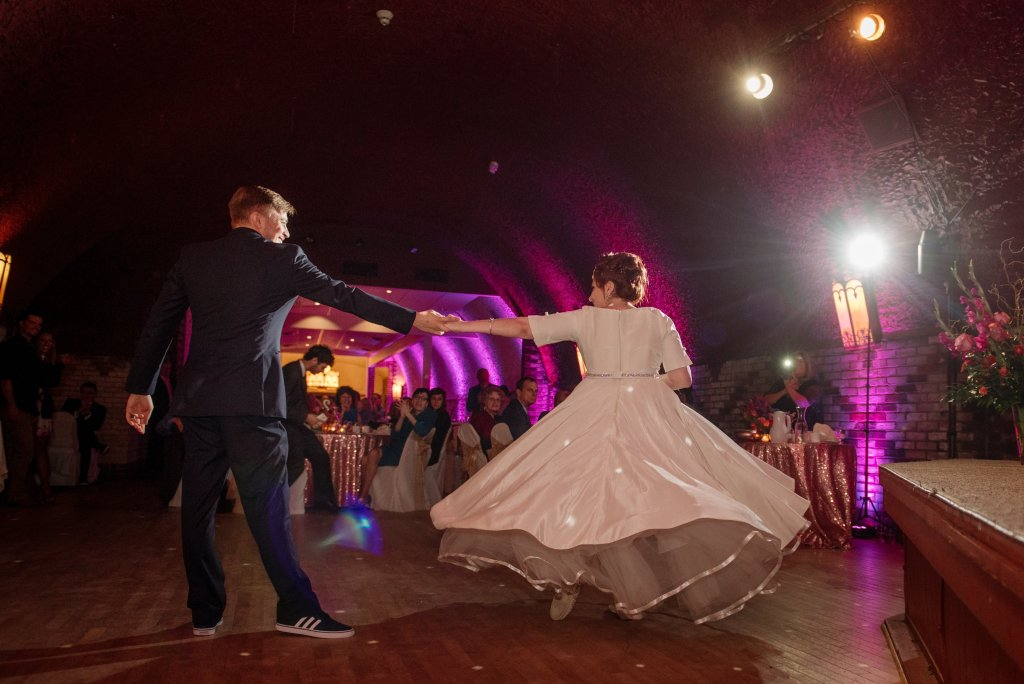 wabasha street caves wedding st paul first dance
