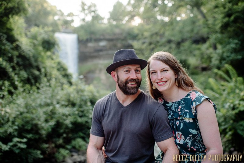 Minnehaha Falls SHORT portrait sessions minneapolis