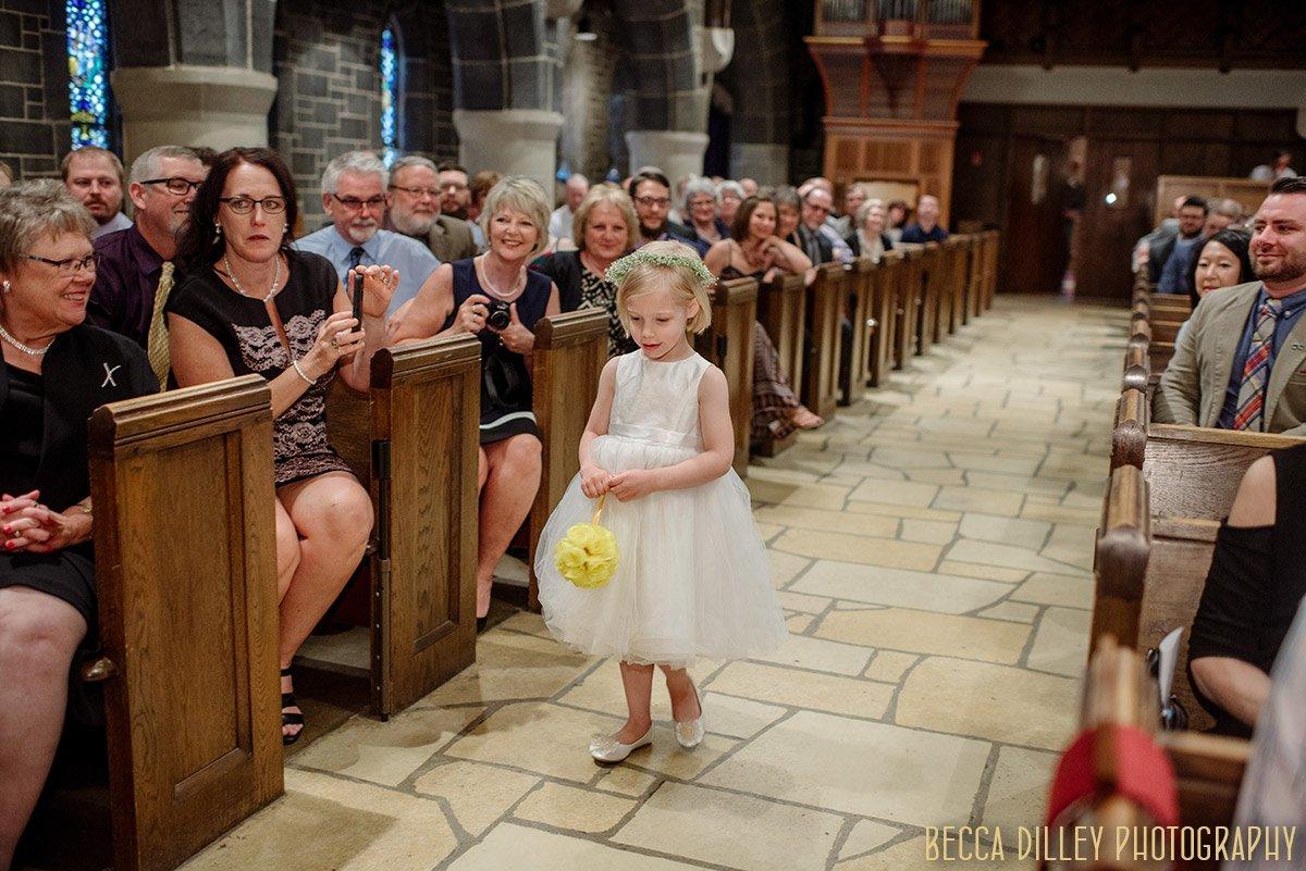 Wedding St. Stephens Church edina Minneapolis