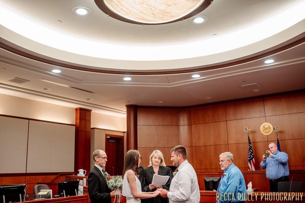 MN Courthouse wedding