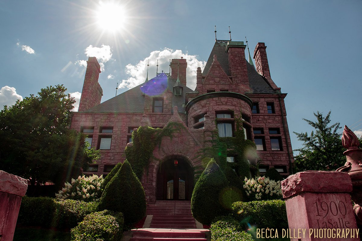 exterior Van Dusen Mansion Wedding Minneapolis