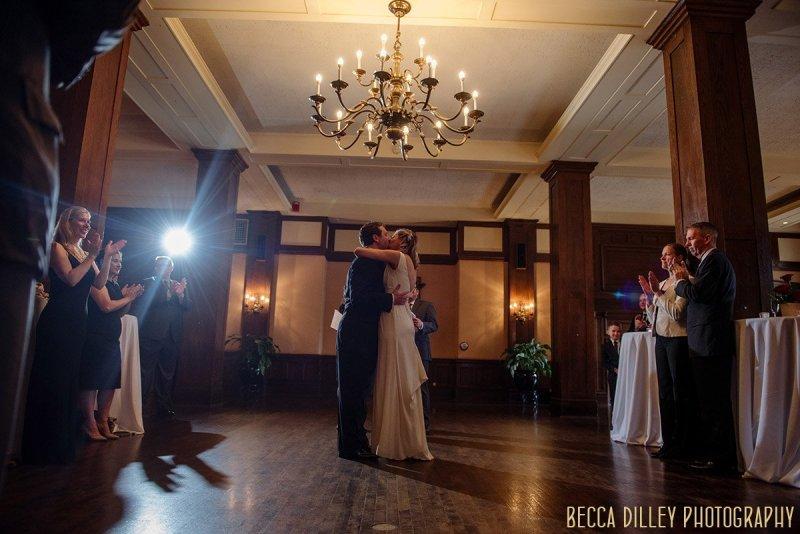wine pairing wedding at Minneapolis Club