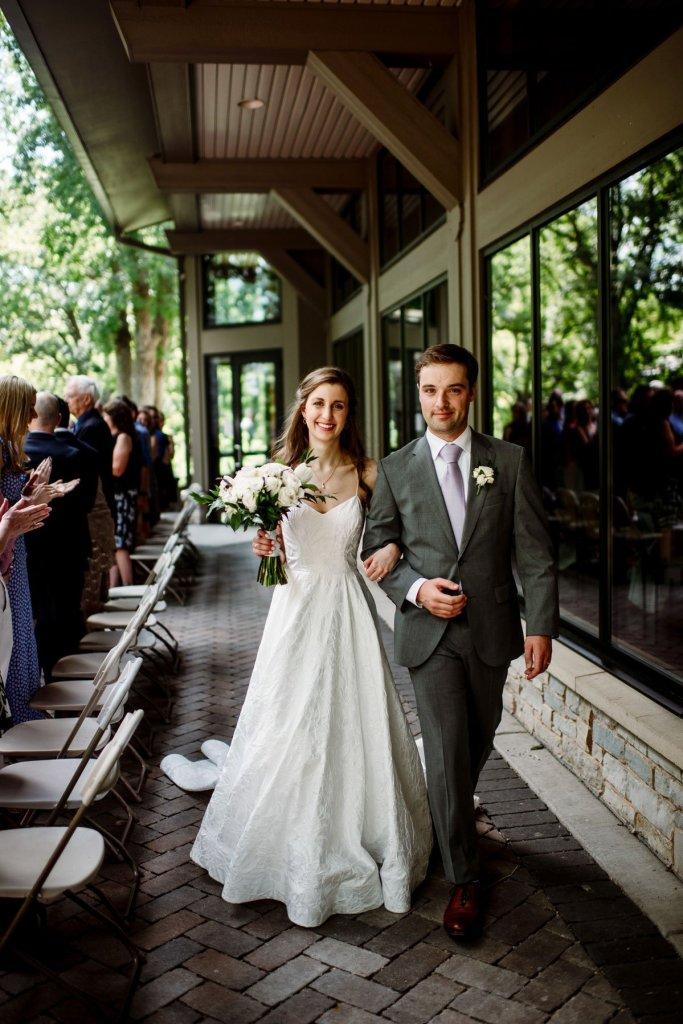 wedding ceremony at silverwood park wedding mn