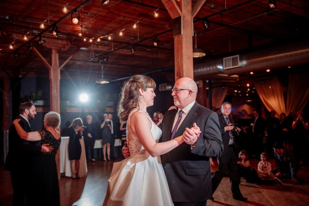 father daughter dance at solar arts