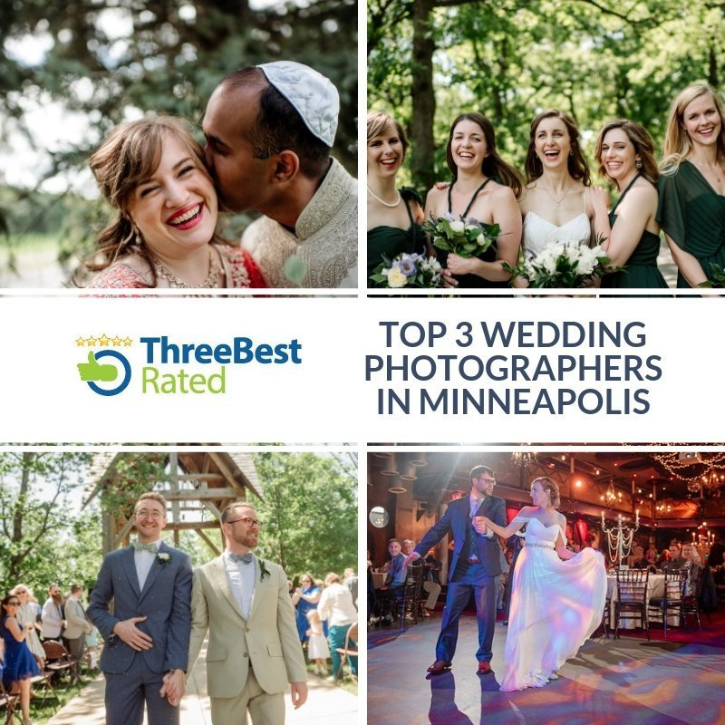 three best wedding photographers in minneapolis