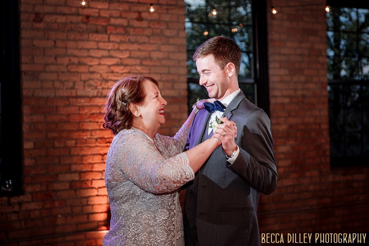 mother and son dance solar arts wedding