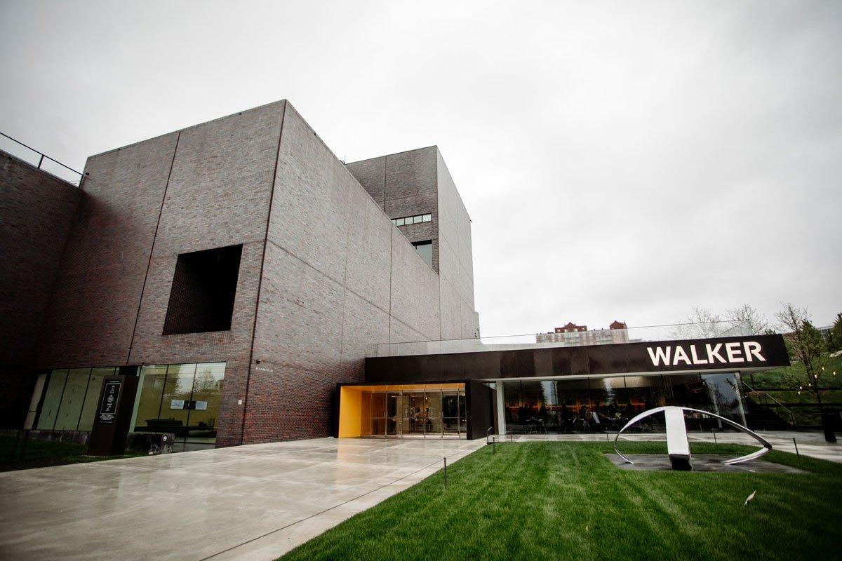 exterior walker art center wedding