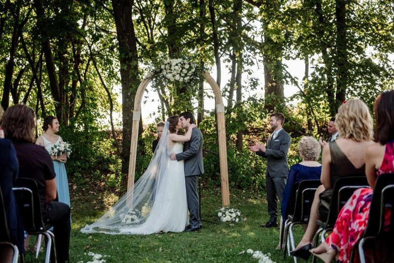 first kiss at Voyageur in MN