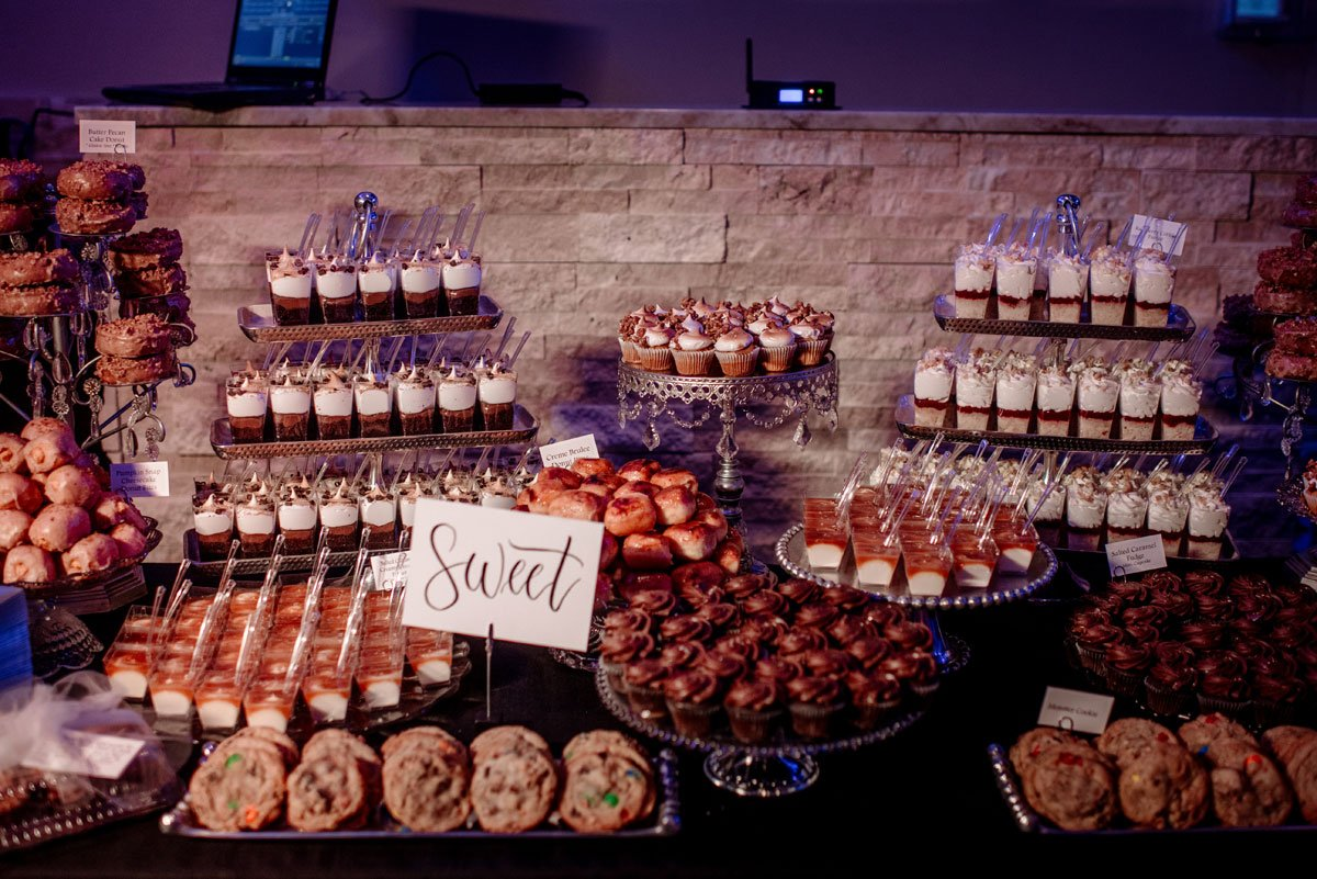 sweet desserts new years eve wedding Minneapolis event center