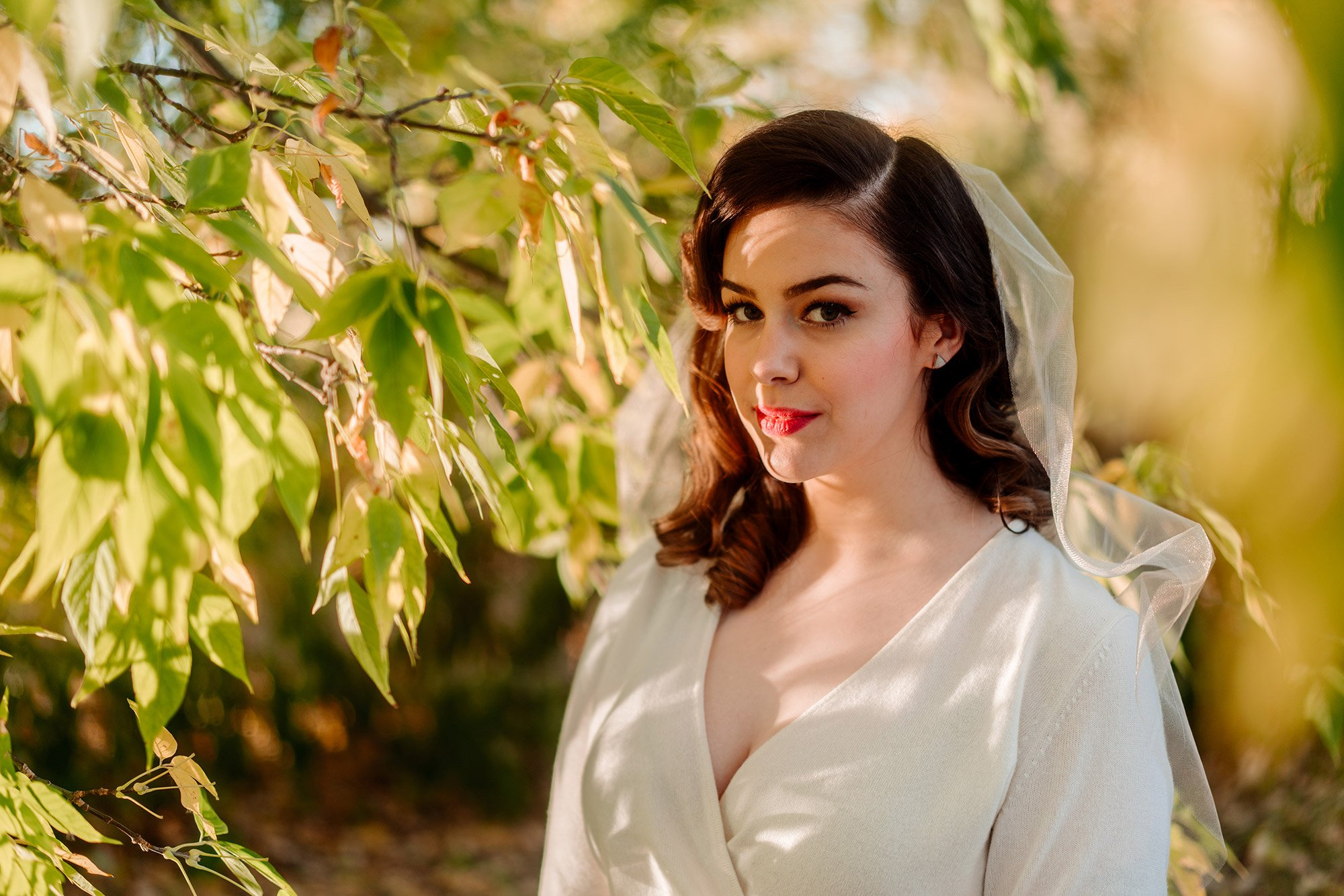 dramatic portrait Minneapolis elopement photographer
